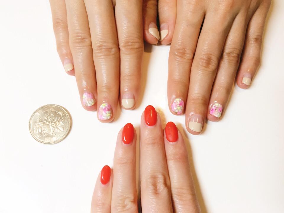 短い小さいお爪の方もHi Nails!にお任せ!